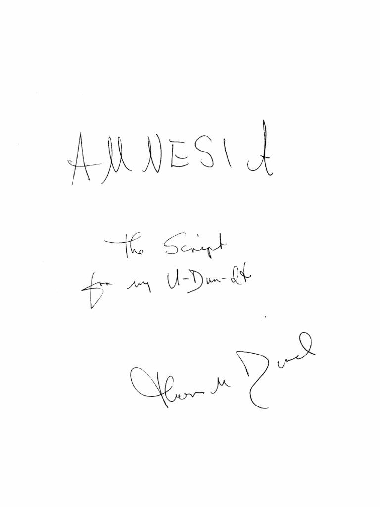 4808897de9d Amnesia Manuscript
