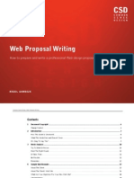 Web Proposal Writing eBook