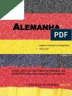 apresentaçao Alemanha