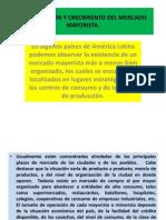 ORGANIZACIÓN Y CRECIMIENTO DEL MERCADO MAYORISTA