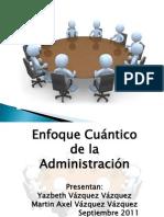 Enfoque cuantitativo de la administración