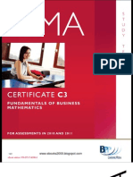 Fundementals of Business Mathematics