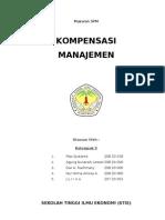 kompensasi manajemen 2003