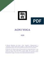 M. Morya - Agni Yoga