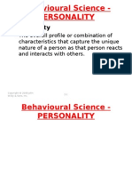 Bs - Personality