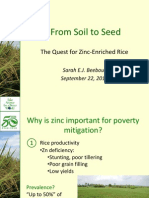 From soil to seed