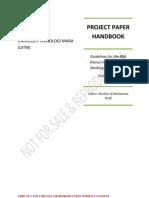 Project Paper Handbook 1st Ed