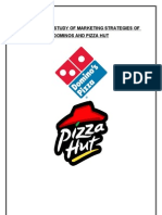 Comparitive Analysis of Marketing Strategies of Dominos and Pizza Hut - Copy