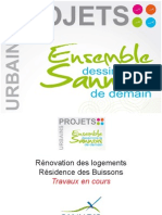 Projets urbains2011