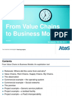 From Value Chains to Business Models