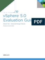 VMware vSphere Evaluation Guide 2 Advanced Storage