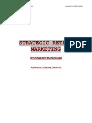 Strategic Retail Marketing Chetochine Retail Brand