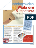 Inredningsskolan8 - Måla Om & Tapetsera