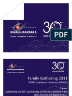 General Information - BINUS Family Gathering 2011 v2