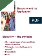 Elasticity & Forecasting Iimm