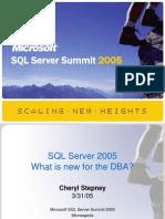 04 SQL Summit DBA Internals