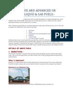 Emerging Fuels (MEHDI).