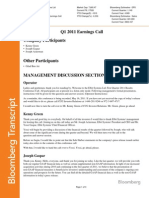 Elbit Systems Q1 2011 Earnings Call 16052011