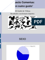 Deportes en el IES Isabel de Villena