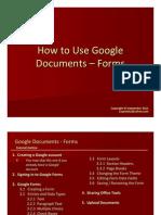 Jing Valdez How to Use Google Docs Forms