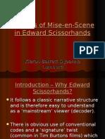 Analysis of Mise-En-Scene in Edward Scissor Hands