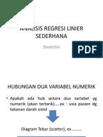8. Analisis Regresi Linier Sederhana