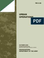 Field Manual 3-06 URBAN OPERATIONS