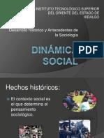ANTECEDENTES HISTÓRICOS SOCIOLOGÍA