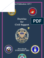 Joint Publication 3-07.7 Doctrine for Civil Support