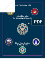 Joint Publication 3-26 Joint Doctrine for Homeland Security