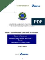 Manual SICAFweb Fornecedor