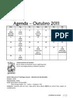 Agenda Outubro 2011