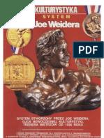 Kulturystyka - System Joe Weidera