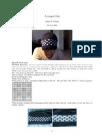 Braid Pattern Hat
