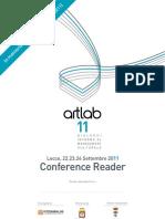 Conference Reader ArtLab11 Fondazione Fitscaraldo