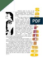Biografía breve de Francisco de Asís