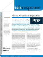 Macro Prudential Regulation