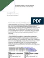 A Contribuição do pensamento sistêmico no design sustentável