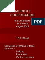 Marriott Corporation