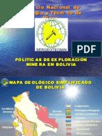 3 Badellon Eddy''Politicas de Exploracion Minera en Bolivia
