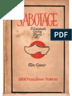 Sabotage Text