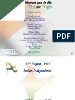 India Presentation by Murthy