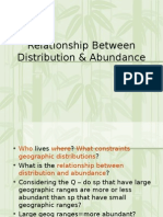 Lec 11-Relationship Betw Distribution and Abundance