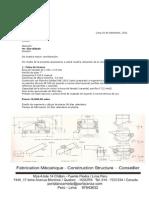 Chutes, Fajas Trasportadoras, Conveyors - Ing Oscar Portalanza and Edgar Portalanza