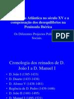 2- A Expansão Atlântica no século XV e a compensação dos desequilíbrios na Península Ibérica. (1)