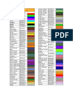 Codigo de Colores HTML