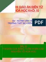 Bai 10 y Nghia Cua Bang Tuan Hoan Cac Nguyen to Hoa Hoc