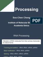10 23 2006 MCB RNA Processing Cheng