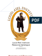 Louis Riel Institute Catalogue 2011