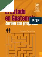 El Estado en Guatemala Orden Con Progreso